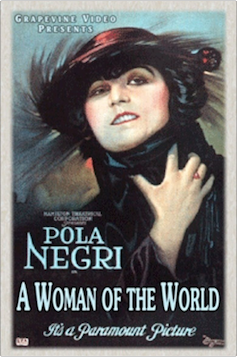 WOMAN OF THE WORLD, A (1925)